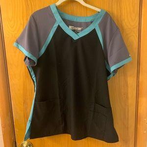 Greys Anatomy Women's scrub top